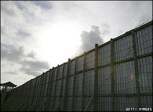 Kerobokan Jail, where accused Australian drug smuggler Schapelle Corby is in custody, May 26, 2005, in Bali, Indonesia.