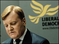 Charles Kennedy makes his resignation speech
