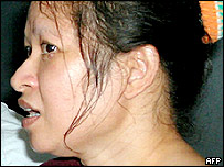 Vivian Alvarez, an Australian of Filipino descent, who was wrongfully deported by Australian immigration officials in 2001.