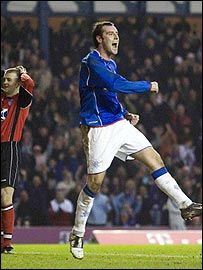 Kris Boyd enjoyed a great debut for Rangers