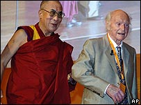 Heinrich Harrer and the  Dalai Lama
