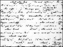 Manuscrito en el idioma Nuuchahnult escrito por el ling�ista Edward Sapir.