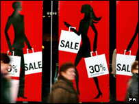 Sales shoppers in Edinburgh