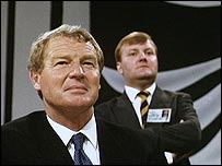 Charles Kennedy with predecessor Paddy Ashdown