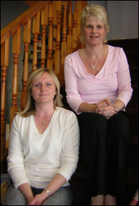 Sandra Keogh and Fiona Glover