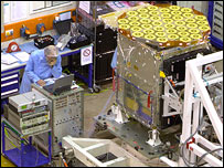Galileo test bed payload (EADS-Astrium)