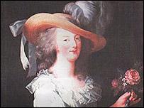 Portarretrato de María Antonieta, pintado por Marie Louise Élisabeth Vigée-Lebrun en 1783.