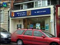A Bristol & West branch