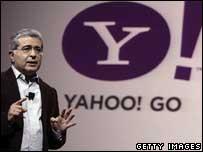 Yahoo boss Terry Semel, AP