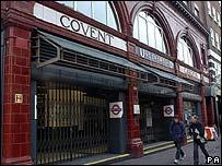 Covent Garden London Underground station