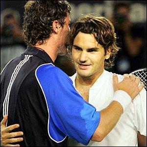 Federer ya está en semifinales de Wimbledon. Tenis