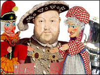 Punch and Judy, Henry VIII and the FA Cup