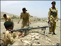 Troops in South Waziristan, Pakistan