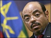 Ethiopian Prime Minister Meles Zenawi