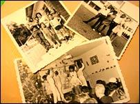 Photos of Reunion exiles