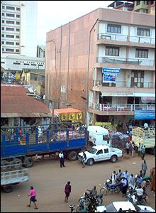Kampala street, Uganda