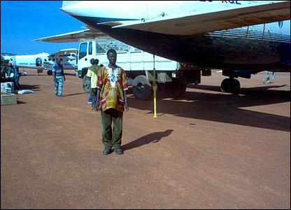 Rumbek airstrip, Sudan