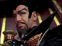 Ming the Merciless aka Max Von Sydow in the 1980s Flash Gordon film