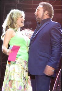 Katherine Jenkins and Tom Jones