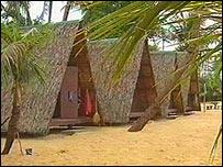 Bungalow accommodation on Lamai beach