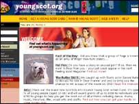 Young Scot web grab