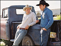Heath Ledger and Jake Gyllenhaal in Brokeback Mountain