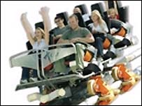 Artists impression of the G Force ride