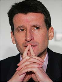 London 2012 bid leader Lord Coe