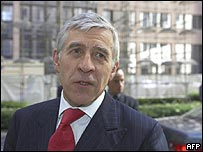 Foreign Secretary Jack Straw