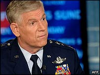 Gen Myers appearing on Fox News