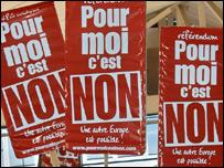 لافتات الرفض