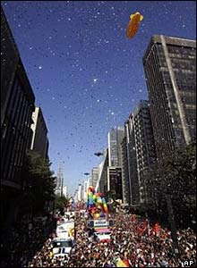 Sao Paulo Gay Parade