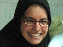 Jill Carroll, pictured in September 2004 (photo by Delphine Minoui)
