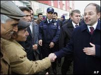Turkish Health Minister Recep Akdag