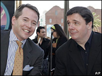 Matthew Broderick (l) and Nathan Lane