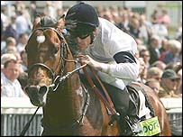 Motivator ridden by Johnny Murtagh