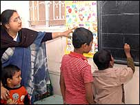 Children at Anandan
