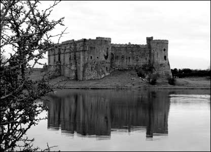 Rob Phillips took this shot of Carew Castle whilst out on a family walk