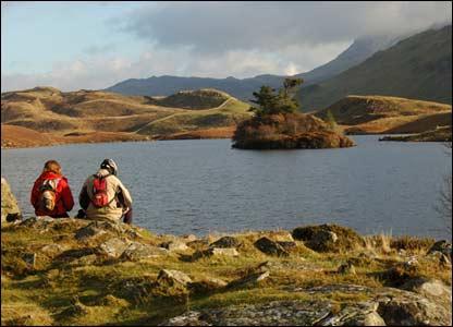 This view of Llyn Cregennen in Gwynedd was sent in by Bruce Falcon