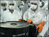 Iranian nuclear technicians