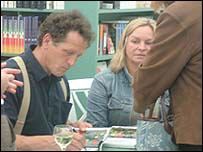 Monty and Sarah Don at Hay book signing