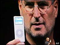 Steve Jobs launching iPod Nano