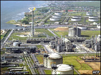 Oil and gas terminal, Niger delta