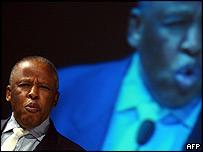 President of Botswana Festus Mogae