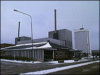 Barseback nuclear reactor in Sweden