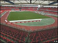 Frankenstadion in Nuremburg, Germany