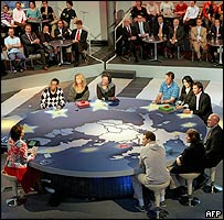 Dutch quiz show based on EU constitution
