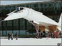 Tu-144 supersonic jet