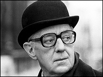 Alec Guinness plays spy George Smiley in John Le Carre's Smiley's People