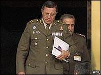 El general Jos� Mena Aguado.